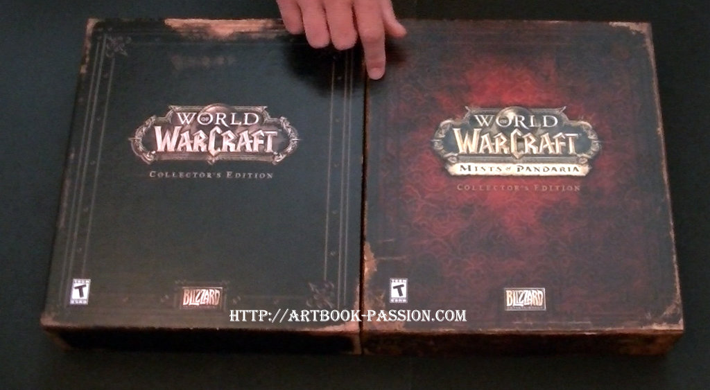coffret collector, mist of pandaria, unboxing