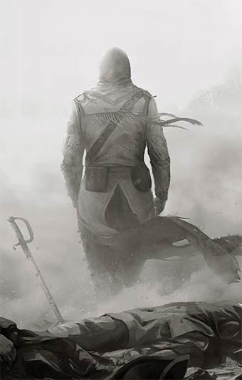 assassin-creed-exposition, artludik, ubisoft, assassin-creed-3, assassin-creed-III,artwork,illustration