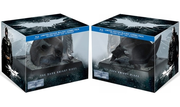 The Dark Knight Rises limited blueray box