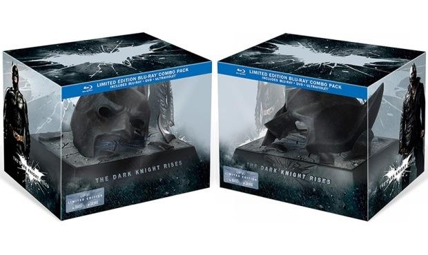 The Dark Knight Rises limited blueray box