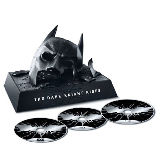 coffret collector blueray batman dark knight rises