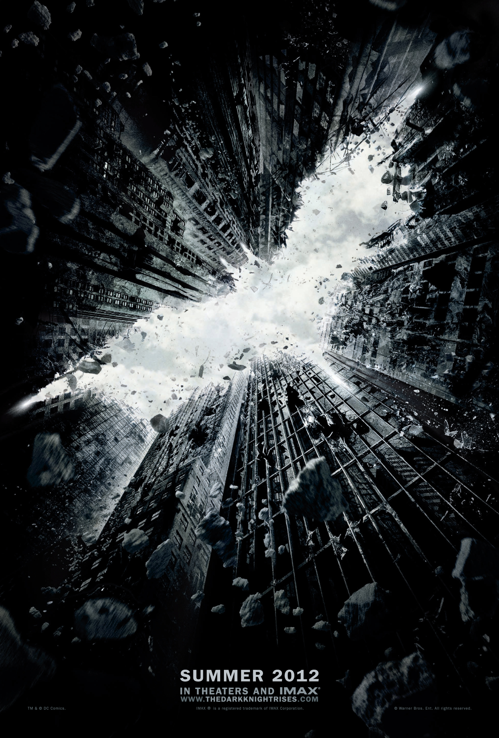 affiche batman dark knight rises